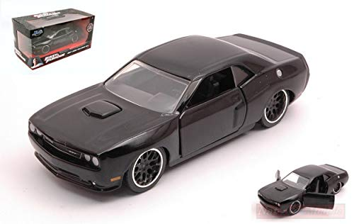 Jada Toys JADA97384 DOM'S Dodge Challenger SRT8 2014 Fast & Furious 1:32 Model kompatibel mit