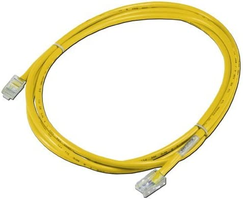 QVS CC712E-03OR 3 ft 350MHz CAT5e Flexible Orange Patch Cord