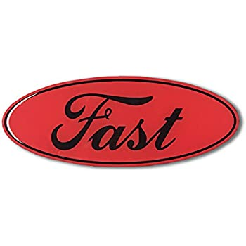 Domed FAST FORD ECOBEAST emblem RED ecoboost eco boost turbo Car Sticker 3D Ford Racing Fast Ecoboost turbo (4
