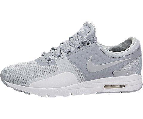 Nike Womens Air Max Zero Wolf Grey/Wolf Grey/White Running Shoe 8 Women US