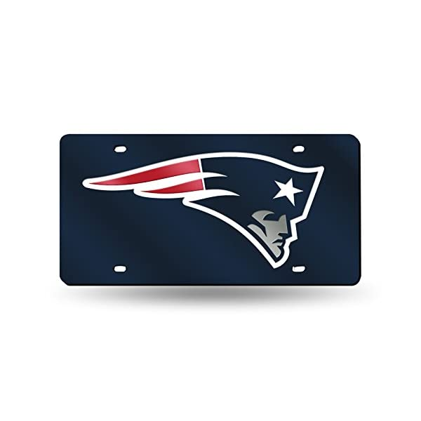NFL-Rico-Industries-Laser-Inlaid-Metal-License-Plate