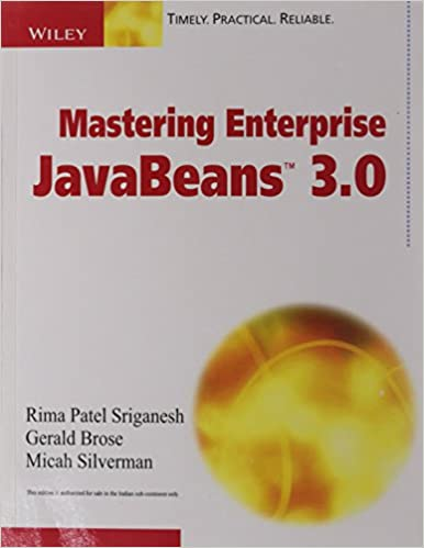 Mastering Enterprises Java Beans 3.0