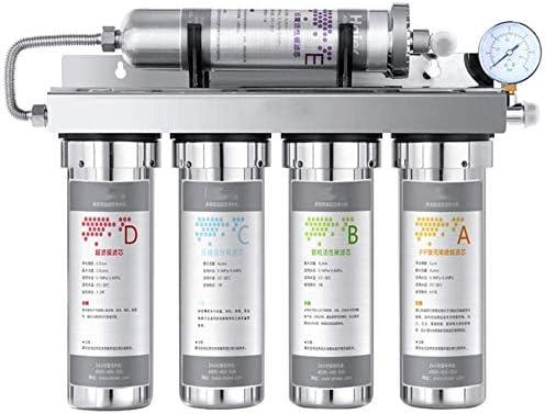 WLD Purificador de agua para uso doméstico Filtro de calidad del agua Sistema de filtro + Filtro mineralizado, Filtro de agua del grifo de consumo directo de la ...