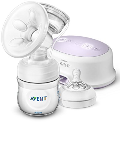 Philips Avent Single Electric SCF332/21 Breast Pump, White (Select Breast Pump)