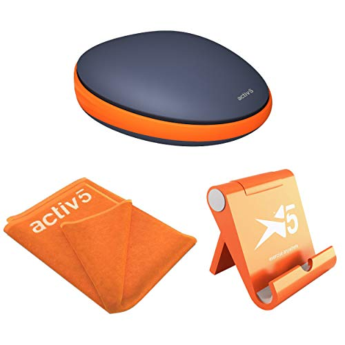 Activbody Activ5 Handheld Isometric Fitness Device with Mobile Stand, Fitness Towel & Coaching App (Fitness Package)