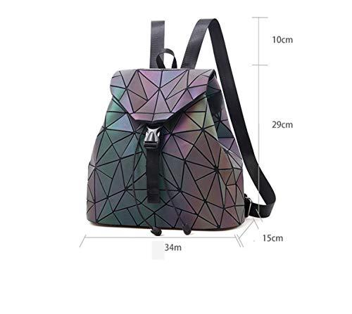 Geometria Picture1 Progettazione Per Olografiche Di Cuoio As Del Drawstring Le Elaborazione Della Borse Reticolo Gl7316 Zaino Picture Luminoso Dell'unità Diamante YHHWc