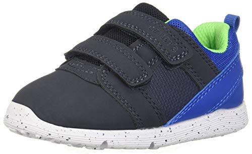 Carter's Every Step Boys' Relay Sneaker, Navy, 3 M US Infant