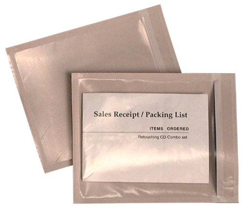 Quality Park Front Packing List Envelopes, 4.5 x 5.5 Inches, 1000 Envelopes, Clear (46890) by Quality Park