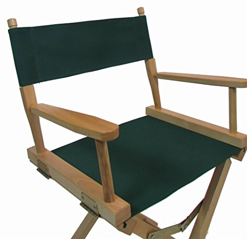 Sunbrella Directors Chair Replacement Cover (ROUND STICK) - Forest Green