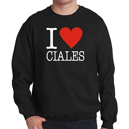 I Love Ciales Clasic Mens Sweatshirt