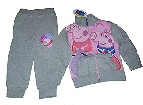 Peppa Pig – Sudadera + Pantalón Chándal originales Peppa Pig gris ...