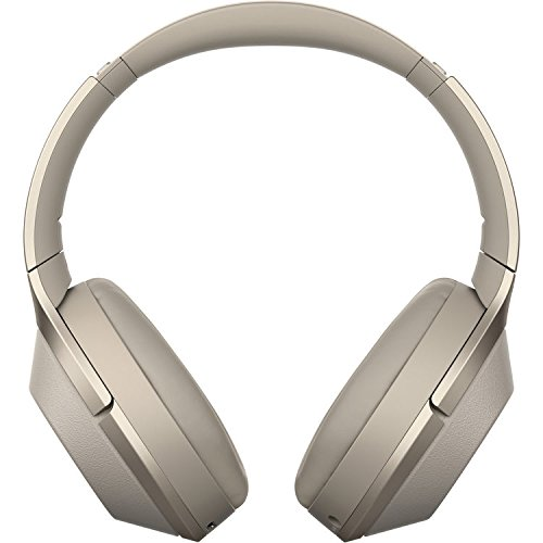 Sony Noise Cancelling Headphones WH1000XM2: Over Ear Wireless Bluetooth Headphones with Case - w/ and Sony SRS-XB2 Portable Wireless Speaker with Bluetooth and NFC (Gold) by Sony (Image #2)