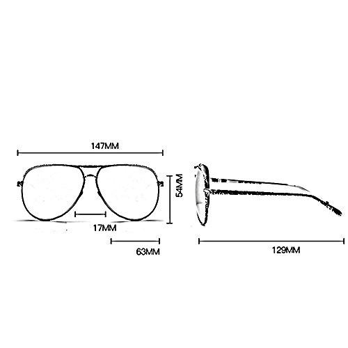 viajes los ZHIRONG protección gafas A aire conducción de UV D rayos sol contra al los gafas solar libre de polarizadas Color Gafas de amantes qwxPqf6