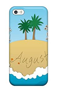 Fashion Protective August Summer Case Cover For Iphone 5/5s