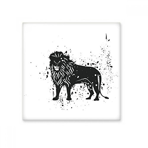 Mexican Lion Simple Black And White Ceramic Bisque Tiles Bathroom Decor Kitchen Ceramic Tiles Wall Tiles (Bisque Ceramic Lion)