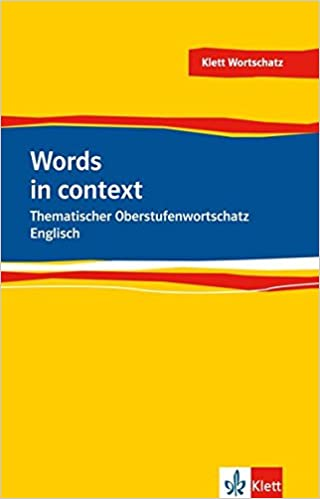 Words in Context. Thematischer Oberstufenwortschatz Englisch: Amazon ...