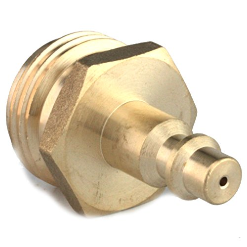 Blowout Plug- RV Blow out Plug with Brass Quick Connect