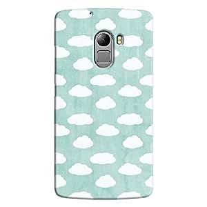 Cover It Up - Clouds Cyan Sky K4 Note Hard case