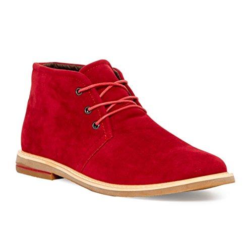 Giraldi Danny-1 Mens Chukka Boots Red 82Cl8Lw