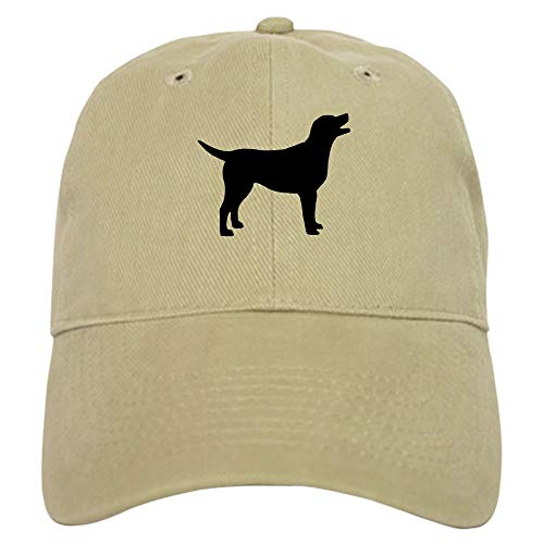 CafePress Labrador Retriever Baseball Cap with Adjustable Closure, Unique Printed Baseball Hat Khaki ()