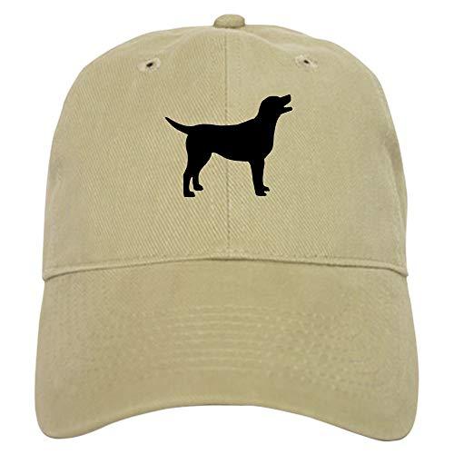 CafePress Labrador Retriever Baseball Cap with Adjustable Closure, Unique Printed Baseball Hat Khaki