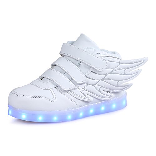 SAGUARO High Top Led Boots Shoes With