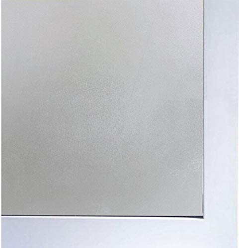 Coavas Privacy Window Film Static Cling Frosted Window Film Suitable for Smooth Glass Surface of Home and Office Window (17.7 x 78.7inch)