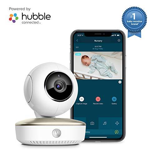 Motorola Smart Nursery Cam Portable Wi-Fi Video Baby Monitor Camera