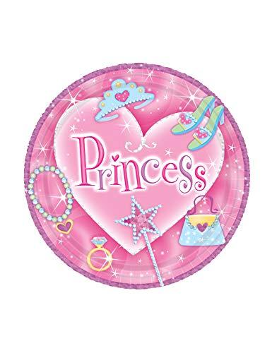 Plate 7 Prismatic - Amscan Princess 7