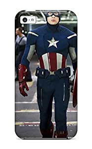 Awesome Case Cover/iphone 5c Defender Case Cover(the Avengers 61)