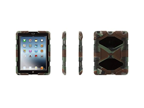 Griffin Technology Hunter Camo Heavy-Duty Survivor Case + Stand for iPad 2, 3, and 4th Gen