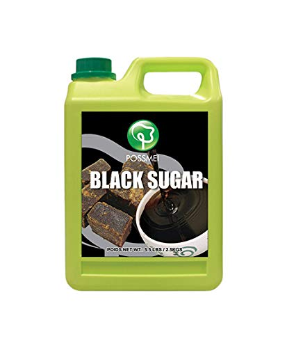 Possmei Flavored Syurp, Black Sugar, 5.5 Pound