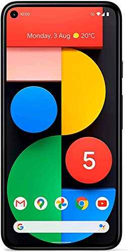Google Pixel 5 15.2 cm (6″) 8 GB 128 GB Single SIM 5G USB Type-C Black 4000 mAh – Google Pixel 5, 15.2 cm (6″), 1080 x 2340 pixels, 8 GB, 128 GB, 12.2 MP, Black