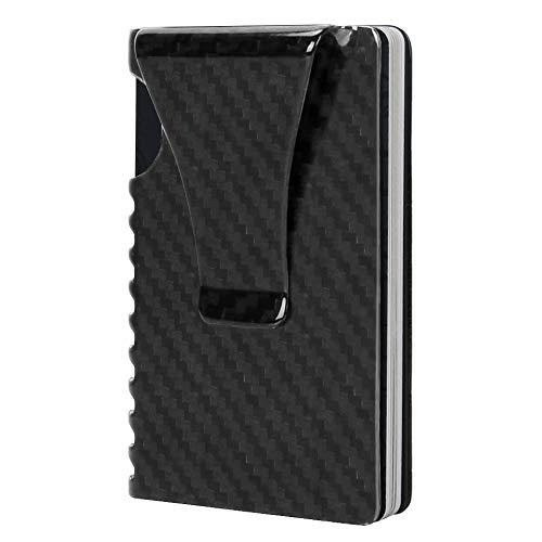 (Money Clip, Slim Wallet-EGRD Carbon Fiber Front Pocket Minimalist Wallet For)