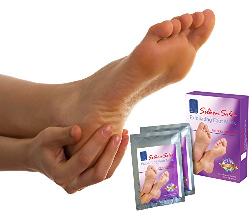 Foot Peel Mask Exfoliant 3 X 2 Pack Lavender Dry Skin Feet Treatment for Baby Soft Silken Soles by VIDI by VIDI (Image #3)