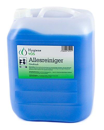 10 liter Hygiene VOS All Purpose Cleaner Citrofresh vetoplossende vloerreiniger met frisse geur