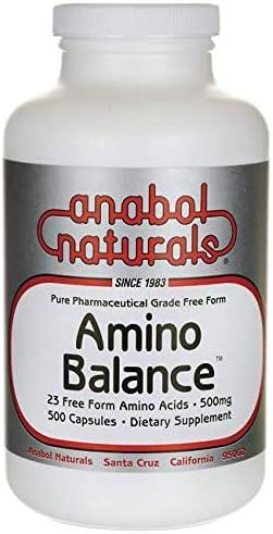 Anabol Naturals Amino Balance 500 caps 500mg