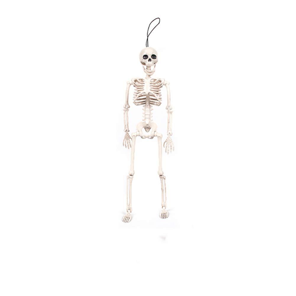 Ndier Squelette de Halloween ou Squelette Complet d'halloween pour la décoration de Halloween 1PCS