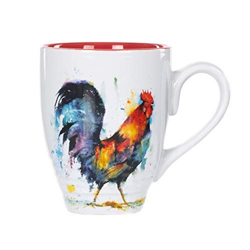 (Demdaco 3005051279 Big Sky Carvers Rooster Mug,)