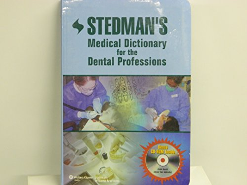 Stedman's Medical Dictionary For The Dental Professions, With Cd (Pb)