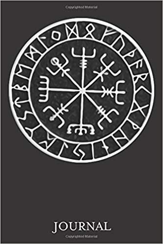"""Vegvisir Protection Sigil Journal: 120 Page 6"""" x 9"""" Blank"""