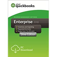 QuickBooks Enterprise 2018 Silver Edition, 8-User (1-year subscription)