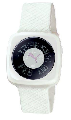 Puma Women's Sport Watch with Rubber Strap Black