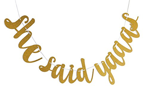 fecedy-she-said-yaaas-gold-glittery-banner-for-engagement-party-bachelorette-party-decorations