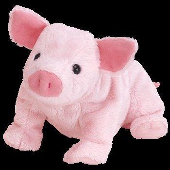 TY Beanie Baby - LUAU the Pig