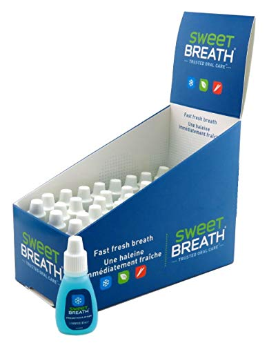 (Sweet Breath Drops (48 Pieces) Peppermint (Blue) 0.125 Ounce (4ml))