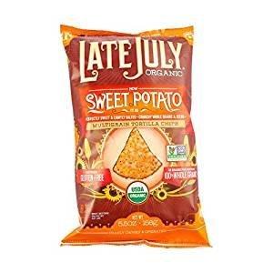 Late July Organic Sweet Potato Multigrain Tortilla Chips 5.5 oz (2 Pack)