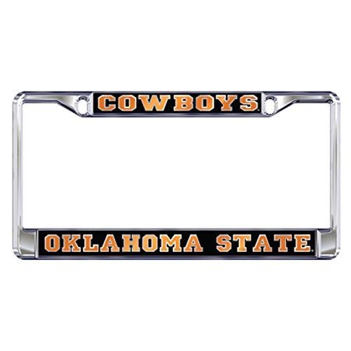 OSU OKLAHOMA STATE COWBOYS Chrome License Plate Tag Frame