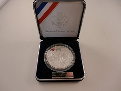 (2007 P Commemorative Jamestown Proof Silver Dollar $1 Mint State US Mint)