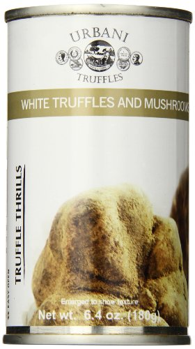 - Urbani Truffles Thrills, White Truffles and Mushrooms, 6.4 Ounces Can